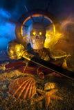 Натюрморт пирата Стоковая Фотография RF
