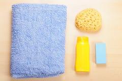 Натюрморт положения квартиры заботы тела Стоковое Изображение RF