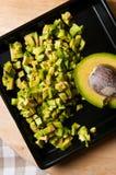 Натюрморт плодоовощ авокадоа отрезал для еды Стоковые Фотографии RF