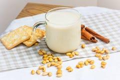 Натюрморт соевого молока Стоковая Фотография RF