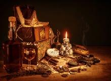 Натюрморт сокровища стоковое изображение rf