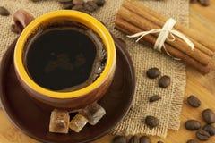 Натюрморт с кофейной чашкой Стоковые Фото