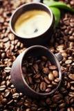 Натюрморт с кофе стоковые фотографии rf