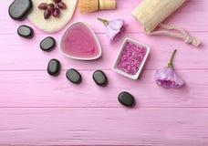 Натюрморт с продуктами заботы тела Стоковое Изображение RF