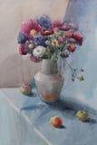 Натюрморт с цветками Стоковое Фото