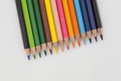 Натюрморт с crayons стоковое фото