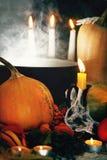 Натюрморт хеллоуина с зельем Стоковые Изображения
