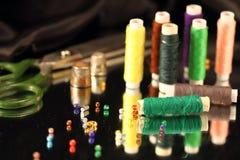 Натюрморт: needlework Стоковая Фотография