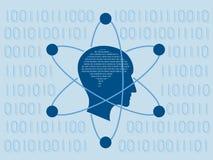 Наука данных и концепция связи Стоковое фото RF