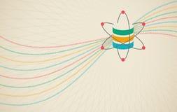 Наука данных и концепция связи Стоковое Изображение RF