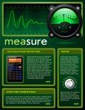 наука брошюры опирающийся на определённую тему Стоковое Изображение RF