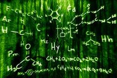 наука иллюстрации химии 03 Стоковые Фото