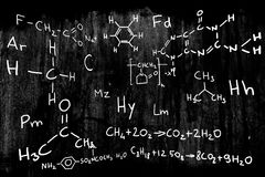 наука иллюстрации химии Стоковое Изображение RF
