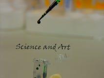 Наука и искусство Стоковые Изображения RF