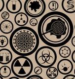 наука картины безшовная Стоковая Фотография RF
