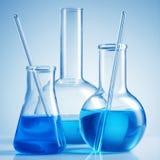 наука лаборатории химикатов Стоковые Изображения RF