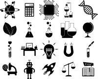 Наука, серия иллюстрации Стоковые Изображения