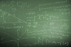 наука физики математики иллюстрации Стоковое Фото