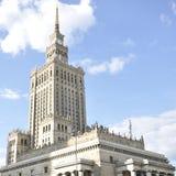 наука warsaw Польши дворца культуры Стоковое Изображение RF
