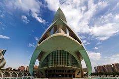 науки Испания valencia города искусств Стоковое Фото