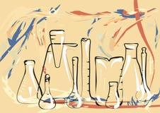 Научная лаборатория бесплатная иллюстрация
