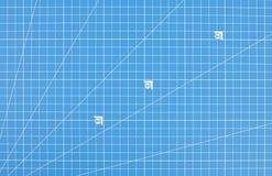 Научная бумага решетки инженерства Предпосылка светокопии стоковая фотография