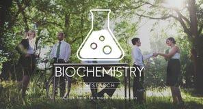 Научная концепция инженерства генетики биохимии стоковые фото