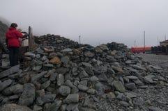 Научно-исследовательская станция Orcanadas стоковое фото