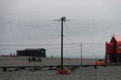 Научно-исследовательская станция Orcanadas стоковая фотография rf