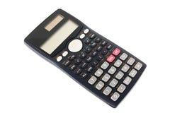 Научный калькулятор изолированный на белой предпосылке Стоковое Изображение
