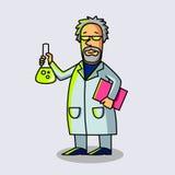 Научный работник на работе Стоковые Изображения RF
