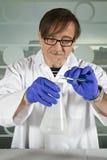 научный работник химии Стоковое фото RF
