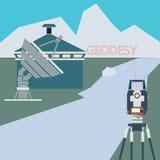 Научн Surveying Компания Стоковые Фото