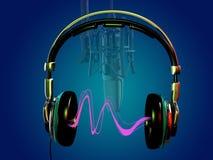 Наушники и микрофон бесплатная иллюстрация