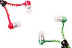 Наушники музыкальный вакуум Стоковые Фотографии RF