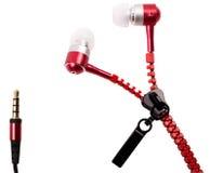 Наушники музыкальный вакуум Стоковое Изображение RF