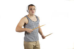 Наушники музыки Стоковые Изображения RF