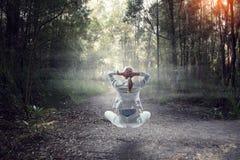 Находить внутренний баланс Мультимедиа Стоковые Фотографии RF