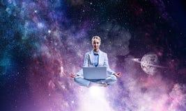 Находить внутренний баланс Стоковые Изображения