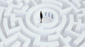 Находить эффективное решение Мультимедиа Стоковые Изображения