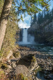 Находящийся ниже по течению падения Snoqualmie Стоковое Фото
