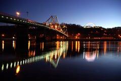 нации приятельства ноги моста Стоковое Изображение RF
