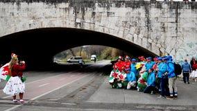 6 наций Италия Уэльс стоковое фото rf