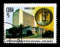 Национальная библиотека, столетие национальной библиотеки s Хосе Marti стоковые изображения