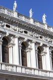 Национальная библиотека ` s Biblioteca Marciana St Mark, фасада, Венеции, Италии Стоковые Изображения