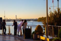 Национальная гавань Мэриленд стоковые фотографии rf