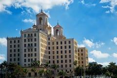 Национальная гостиница в Гаване в Кубе стоковые фото