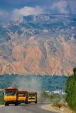 Национальная дорога на плато Стоковая Фотография RF