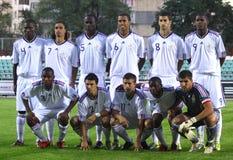 национальная команда 21 Франция вниз Стоковые Изображения