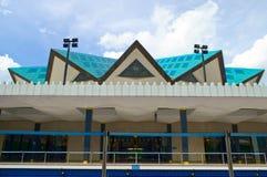Национальная мечеть Куалаа-Лумпур, Малайзии стоковые фотографии rf